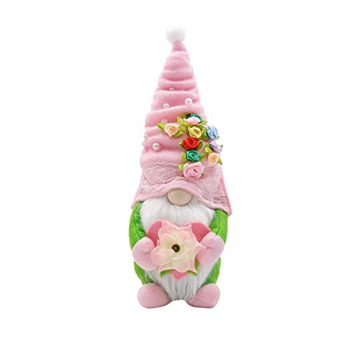 Spring Flowers Dwarf Gnome Easter Mother's Day Gnomes Gift Home Decoration Home & Garden Home Decor