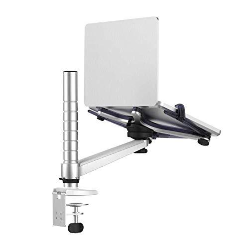 LIPENLI Altura Ajustable del Ordenador portátil de aleación de Aluminio del Soporte de la rotación de 10-17 Pulgadas portátil Instalación Mesa de sujeción