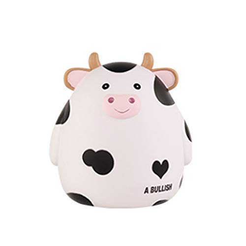WINON Huchas Cute Piggy Bank Coin Money Box Ahorro de Monedas Cash Fun Gift Coin Bank Kids Money Bank para niños y niñas Regalos, decoración de Escritorio Tarro de Dinero