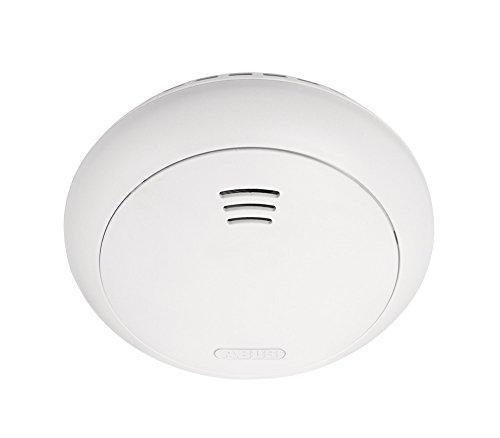 ABUS Smartvest Funk-Rauch-/Hitzewarnmelder FURM35000A - Melder zur Detektion von Rauch und Hitze - für Wohnräume - Weiß - 38831
