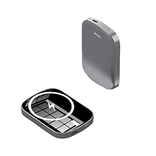 Power Bank Magnetic Power Bank Cargador inalámbrico Mini Cargador rápido magnético 5000 mAh / 10000 mAh Fuente de alimentación de Respaldo Compatible para iPhone 12PD