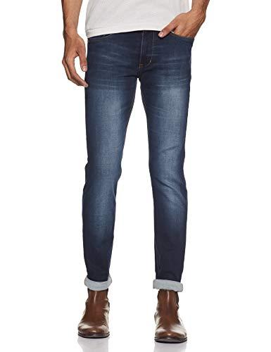 Numero Uno Men's Super Slim Jeans (NMJNRL2514_Dark Blue_36)