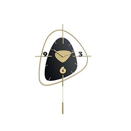 zhangshop Reloj de Pared Decorativo Reloje de Pared modernon Viven Reloj de Pared Hogar Moda Reloj de Pared de Silencio Reloj Decorativo Relojes fáciles de Leer (Color : C)