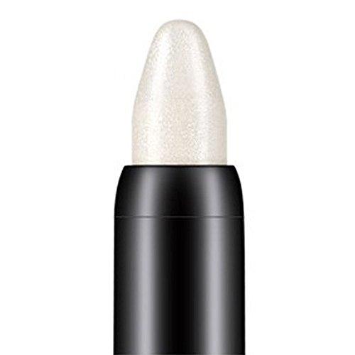 Tonsee Femmes Beauté Surligneur Crayon À Paupières Cosmétique Glitter Ombre À Paupières Eyeliner Stylo Outil De Maquillage Portable, 116cm (Blanc)