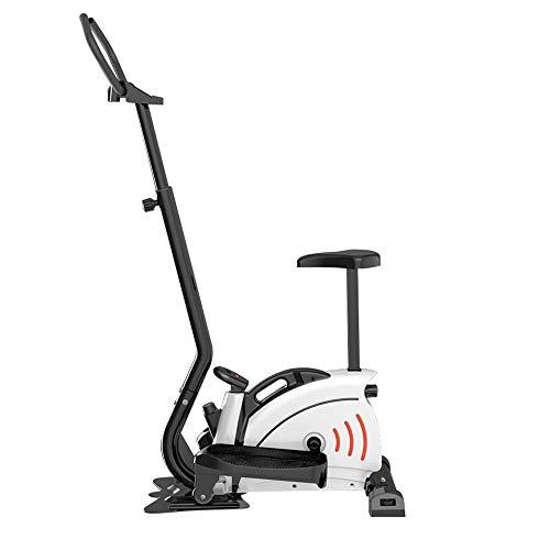 ZAIHW Elliptische Maschine for den Heimgebrauch, tragbare Ellipsentrainer for Hauptgymnastik Aerobic, Cardio Fitnessgeräte mit LCD-Monitor, Einstellbare magnetischem Widerstand und Free Mat