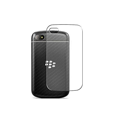 Vaxson 2 Stück Rückseite Schutzfolie, kompatibel mit BlackBerry Q10, Backcover Skin TPU Folie Haut [nicht Panzerglas Bildschirmschutzfolie Hülle Hülle ]