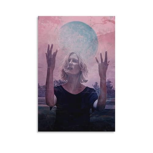 SHUUG Affiche d'art sur toile de film Lars Von Trier Melancholia et décoration murale moderne pour chambre à coucher 30 x 45 cm