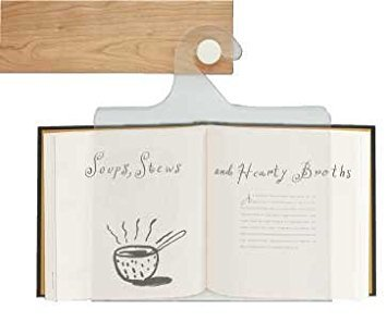 The Classic All-Acrylic Cookbook Holder in a Gift Box and Labeled