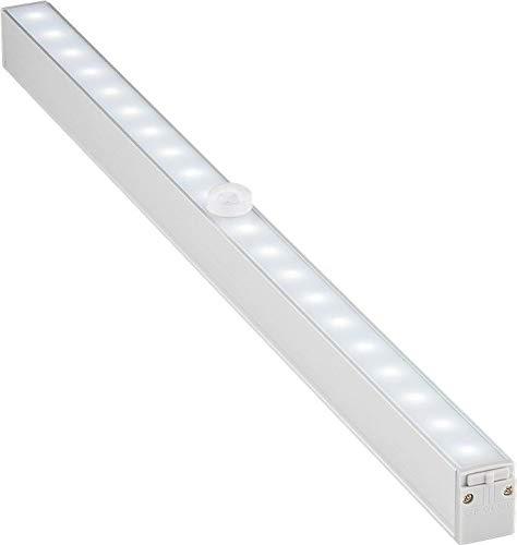 Goobay 55498 LED onderbouwlamp met bewegingsmelder ideaal voor kasten, keukens, vitrines, laden, gang & garages, 80 lumen