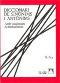 Diccionari de sinònims, idees afins i antònims - 9788430774067