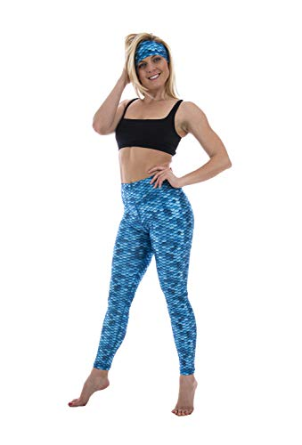 Slipins Sea Legs - Aqua Mermaid - XL