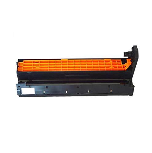 Compatible con Oki C3100 C3200 Cartucho de tóner de Color C5100n C5300n C5400n Drum Rack,Black