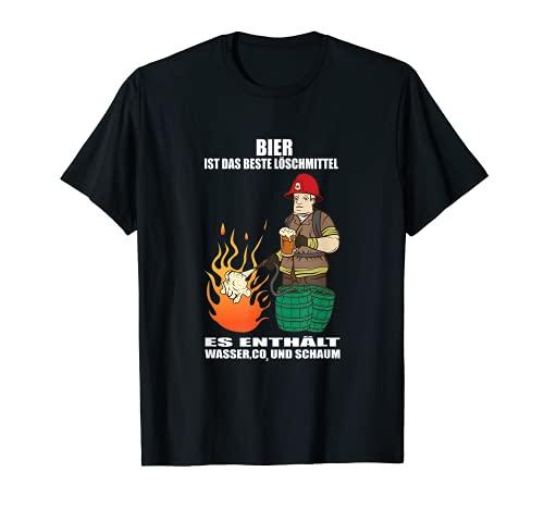 Extincteur volontaire pompiers bières T-Shirt
