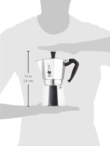 Bialetti Moka Express Aluminium Stovetop Coffee Maker (9 Cup)