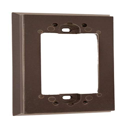 Leviton 6197 Shallow Wallbox Extender for Decora/GFCI Device, Brown by Leviton