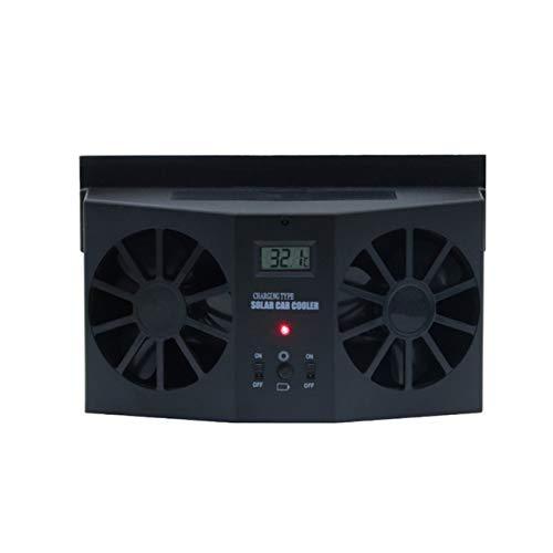 Solar Sun Power Car Auto Air Vent Cool Cool Cooler