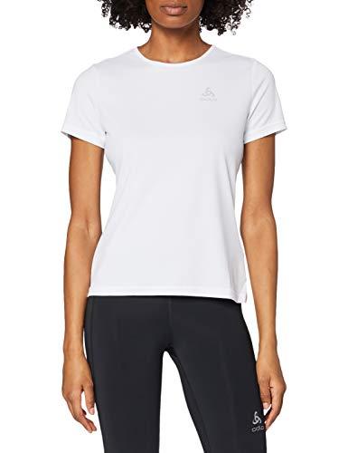 Odlo T- Shirt s/s Crew Neck CARDADA Femme, White, FR : S (Taille Fabricant : S)