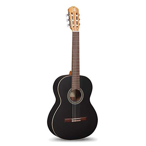 Klassische Gitarre Alhambra 1C Black Satin