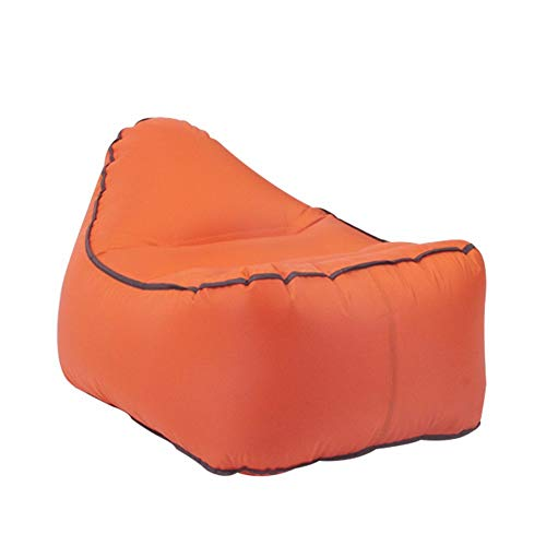 ARIESDY Tumbona inflable, sofá de aire, portátil, impermeable, saco de dormir, cama ultraligera con almohada flotador para camping, senderismo, piscina, playa, patio trasero, viajes