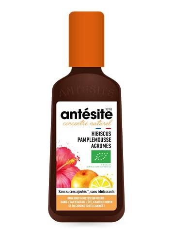Antésite hibiscus pamplemousse agrumes bio 12cl
