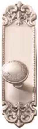 Tampa Mall 2.37 in. Antique overseas Brass Fleur De Set Passage Lis Plate