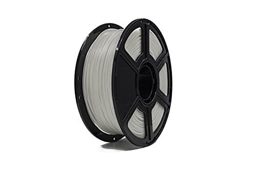 FLASHFORGE PLA Filament 1.75 mm White, Glows Purple in the Dark, FLASHFORGE 3D Printer Filament 1 kg Roll Luminous Purple