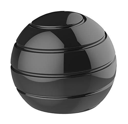 CaLeQi Kinetic Schreibtischspielzeug Office Metal Spinner Ball Gyroskop mit optischer Täuschung für Anti Angst Stress abbauen Inspirieren Sie innere Kreativität