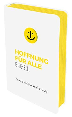 """Hoffnung für alle. Die Bibel - """"White Hope Edition"""" - Großformat mit Loch-Stanzung: Die Bibel, die deine Sprache spricht"""