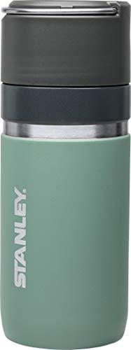 Stanley GO Ceramivac Thermobecher mit Keramikbeschichtung, 0.47 L, lindgrün, beschichteter 18/8 Edelstahl, vakuumisoliert, geschmacksneutral, Isolierbecher Kaffeebecher
