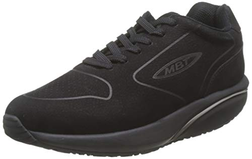 MBT Herren Mbt-1997 Nubuck M Black/42 Sneakers, Schwarz (Black 03u), 42 EU