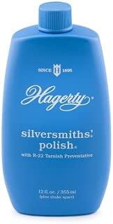 W. J. Hagerty Hagerty 10120 Silversmiths' Silver Polish, 12 Ounces, 12-Ounce, Blue, Fl Oz