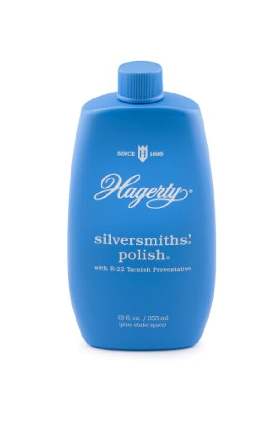 W. J. Hagerty Hagerty 10120 Silversmiths' Silver Polish, 12 Ounces, 12-Ounce, Blue, Fl Oz