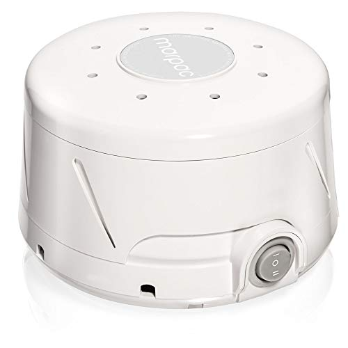Marpac Dohm Classic (White) | The Original White Noise Machine | Soothing Natural Sound from a Real Fan | Noise Cancelling | Sleep Therapy, Office Privacy, Travel | For Adults & Baby | 101 Night Trial