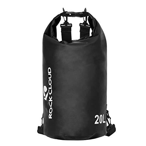 ROCK CLOUD Dry Bag Waterproof 10L Dry Sack for Kayaking Rafting Boating Beach Surfing Swimming Canoe...