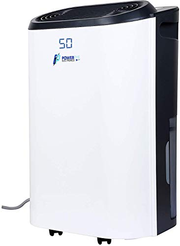 POWER PYE ELECTRONICS 30L/Day Dehumidifier 260-Watts 3 In 1 Dehumidifier,Cloths Dryer And Purifier