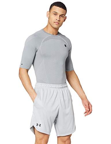 Under Armour Knit Training Corto, Uomo, Grigio, XL