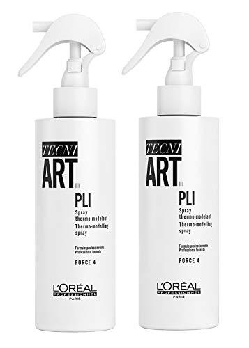 2er Pli Thermo Volumen Spray Tecni Art Loreal Professionnel 190 ml