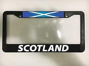 Billion_Store Scotland Scottish UK Edinburgh Glasgow Scots Black License Plate Frame New Cool Tuning