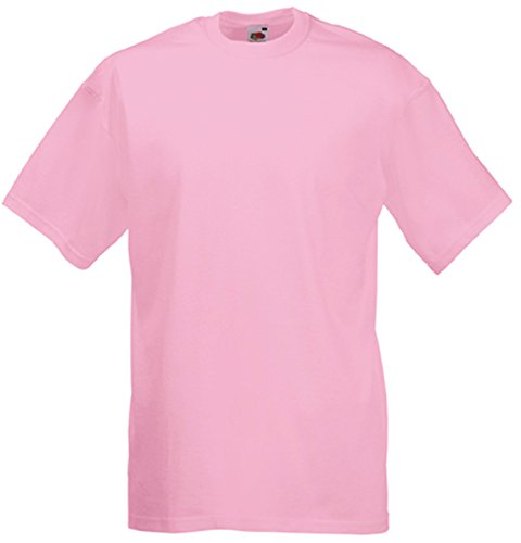 Fruit of the Loom Valueweight T-Shirt Rose XXL