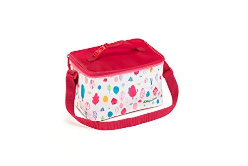 Lilliputiens 84415 Picknicktasche Kühltasche für Kinder, Design Rotkäppchen, Größe ca. 24x14x16 cm