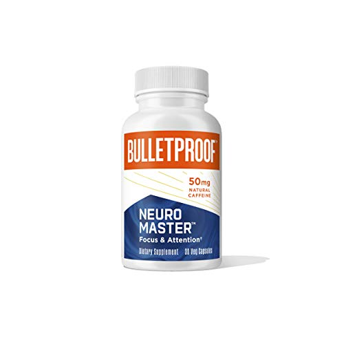 Neuromaster Nootropic with Caffeine from Coffee Fruit Extract, 30 Capsules, Bulletproof Keto Supplement for Natural Brain Support, Improved Memory & Clarity, and Enhanced Concentration & Focus