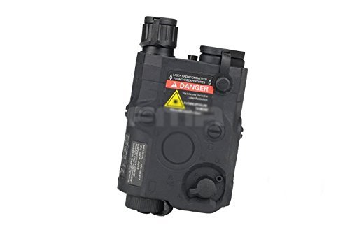 H World Shopping FMA Navy Seal PEQ-15 Case Box Modell für Tactical AEG Airsoft Display schwarz (nur Hülle)
