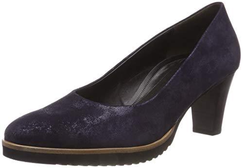Gabor Shoes Damen Comfort Fashion Pumps, Blau (Atlantik.S/C.A.S) 96, 38.5 EU