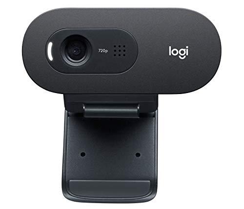 Logitech C505 / C505e 720P HD Webcam Cámara de Oficina Videoconferencia Curso...
