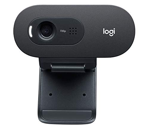 Logitech C505/C505e HD Wired Business Webcam with 720p and Long-Range Mic