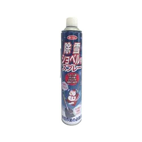 大澤ワックス(Osawa Wax) BOLL 除雪ショベル用スプレー JSS-840S 840ml ノズル1本付