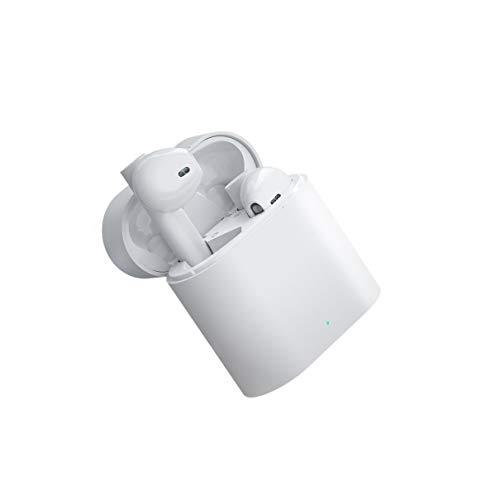 Cuffie Bluetooth 5.0 wireless, Cuffie Bluetooth sportive impermeabili IPX5, Cuffie Bluetooth senza fili in-ear con doppio microfono e scatola di ricarica per Android/Samsung/Huawei