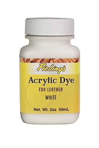 Fiebing's Weiß Acryl Leder Farbe