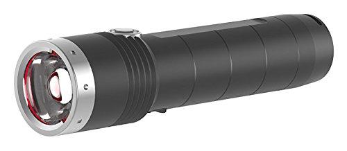 Ledlenser, MT10, LED Taschenlampe, 1000 Lumen, mit Akku, wiederaufladbar, fokussierbar, Leuchtweite 180m, Leuchtdauer bis 144 Std.