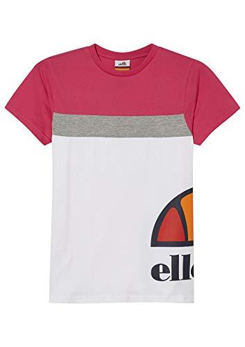 ellesse Xelio T-Shirt pour Fille S Blanc